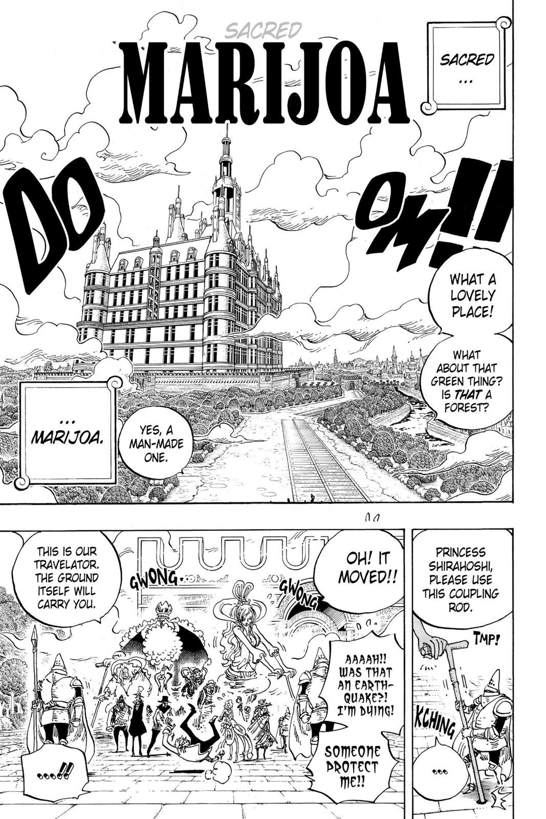 One Piece, Chapter 906 image 003