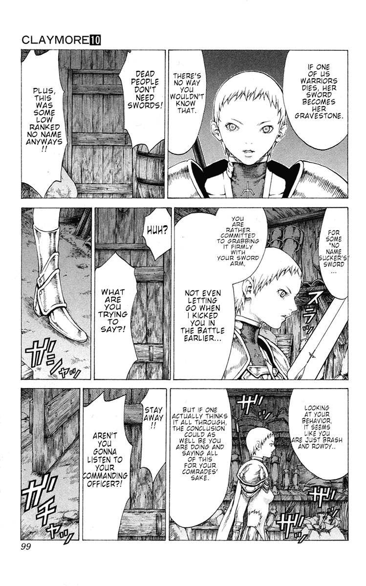 Claymore, Chapter 54 image 028