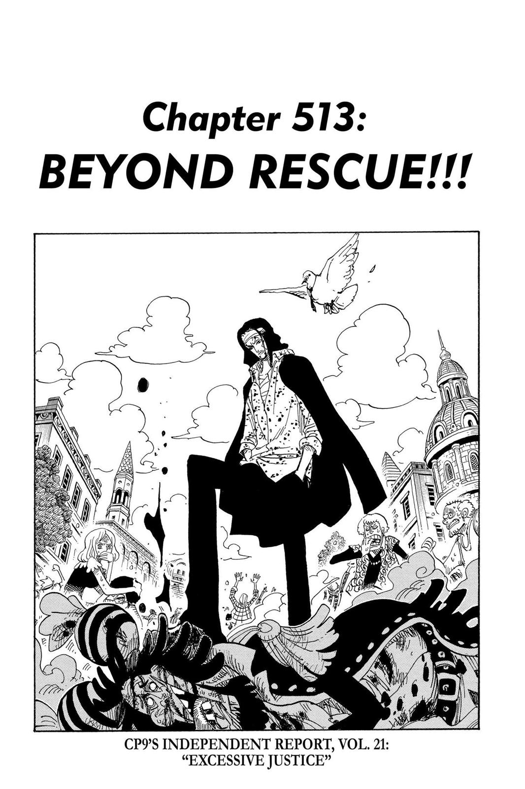 One Piece, Chapter 513 image 008