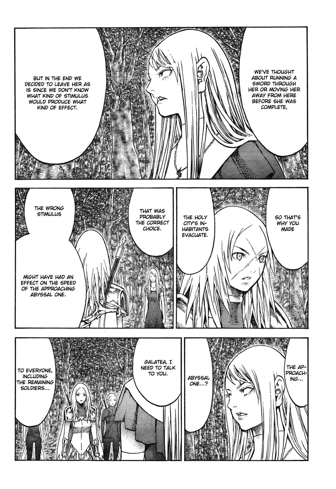 Claymore, Chapter 128 image 020