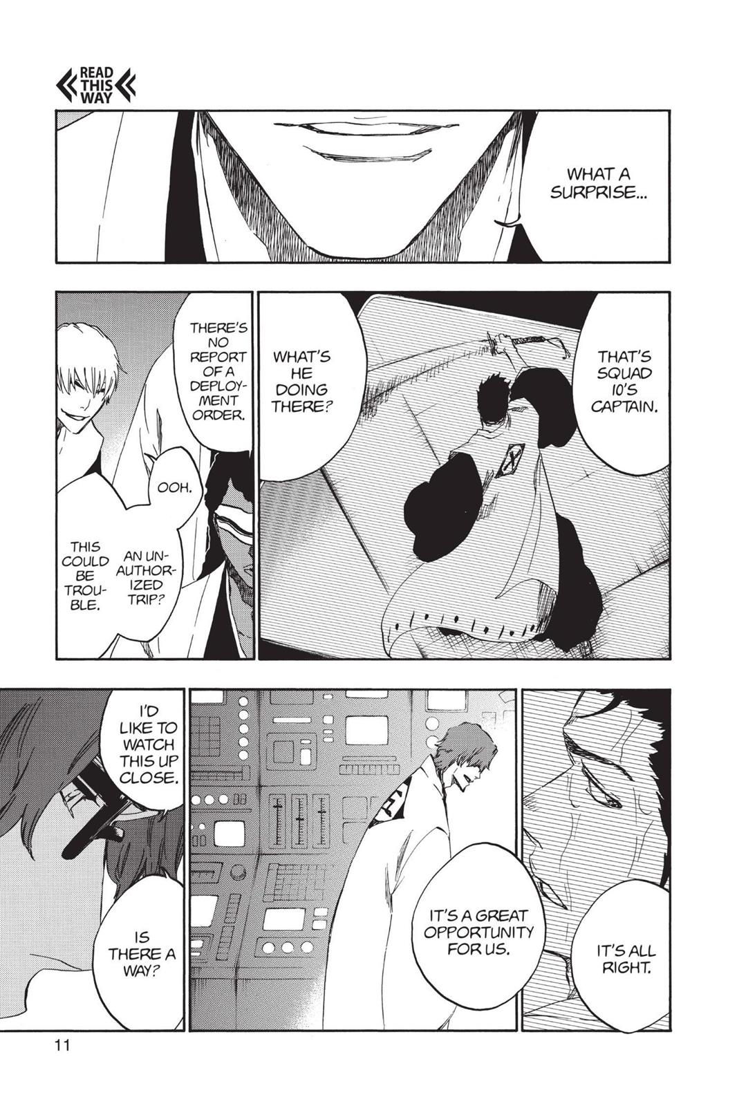 Bleach, Chapter 531 image 011