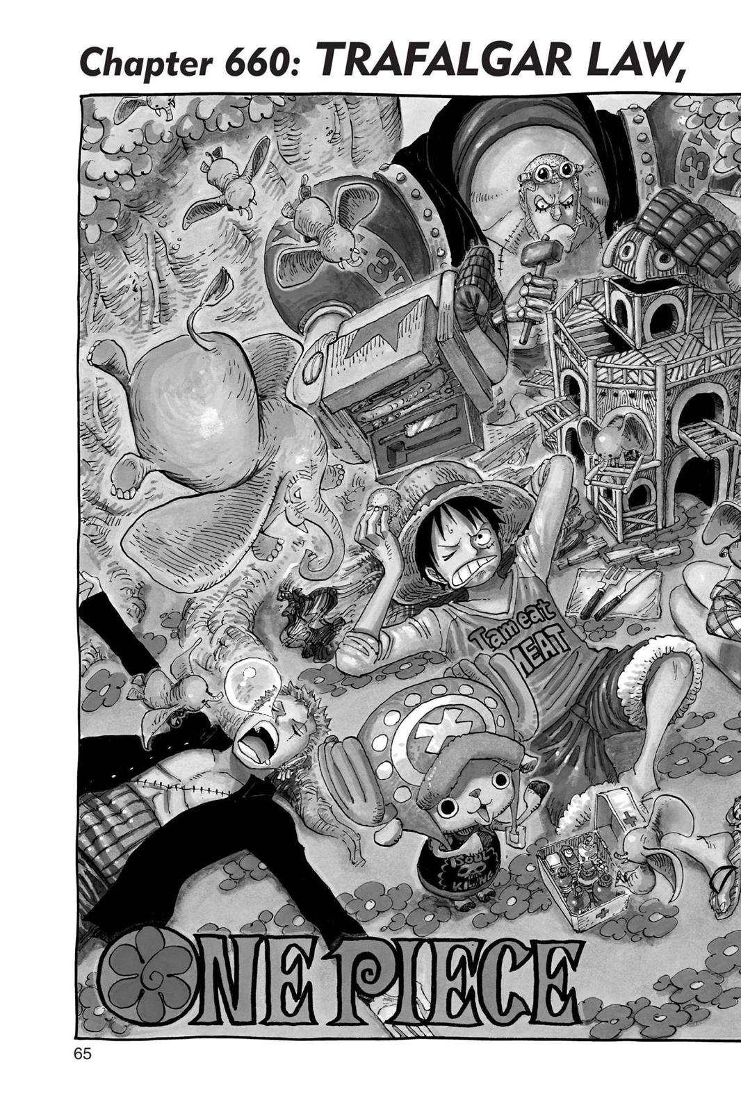 One Piece, Chapter 660 image 002