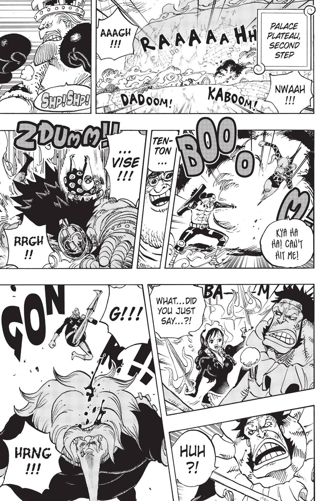 One Piece, Chapter 768 image 013