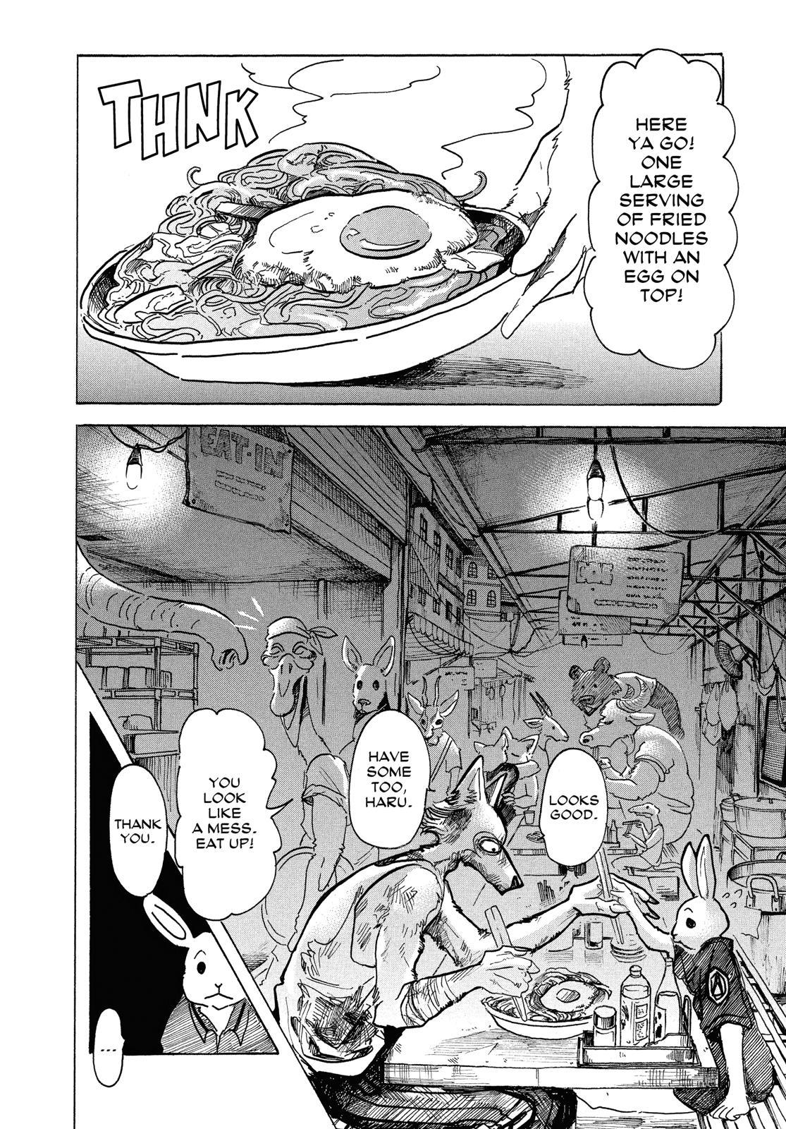 Beastars Manga, Chapter 42 image 017