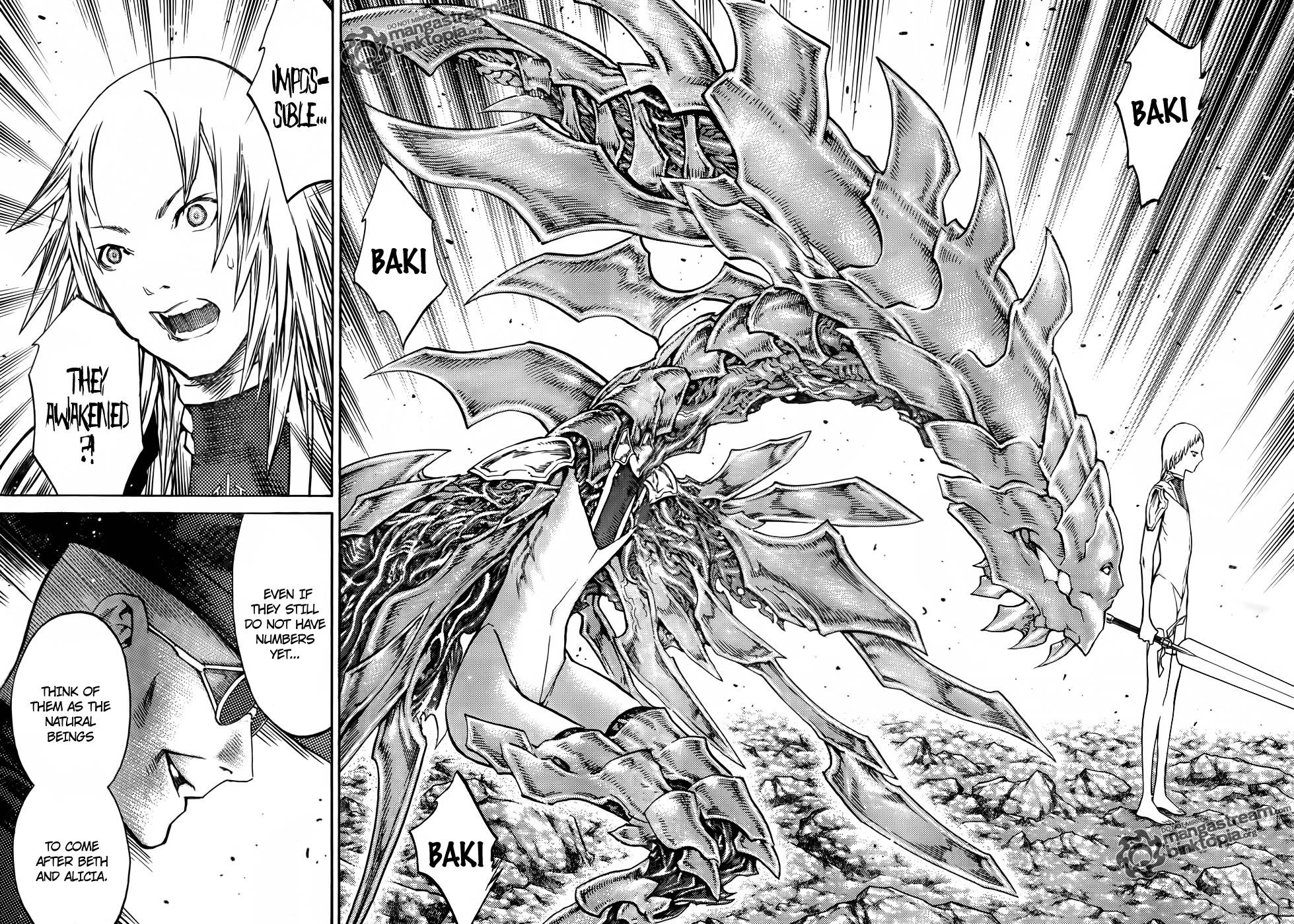 Claymore, Chapter 106 image 025