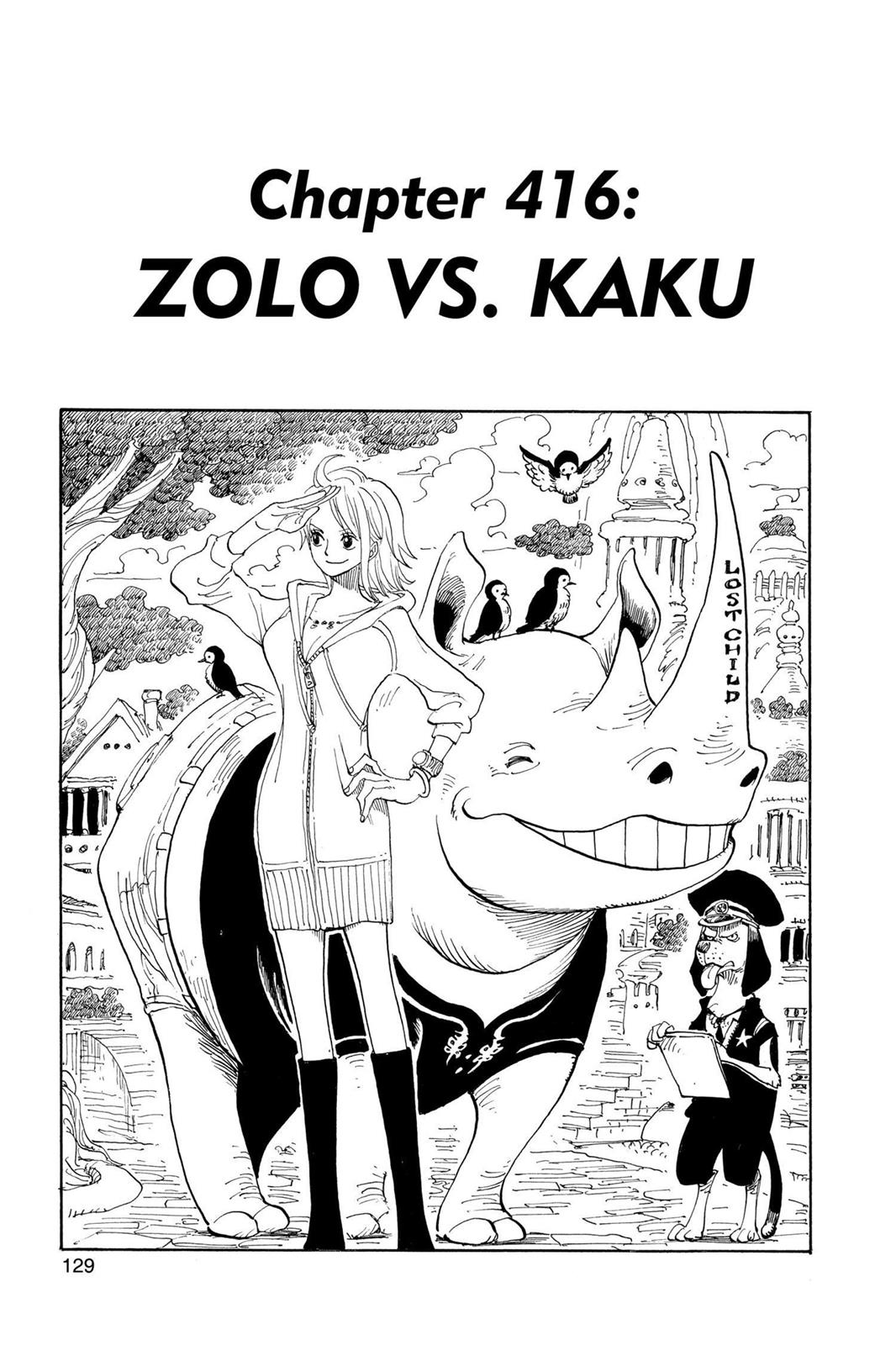 One Piece, Chapter 416 image 001