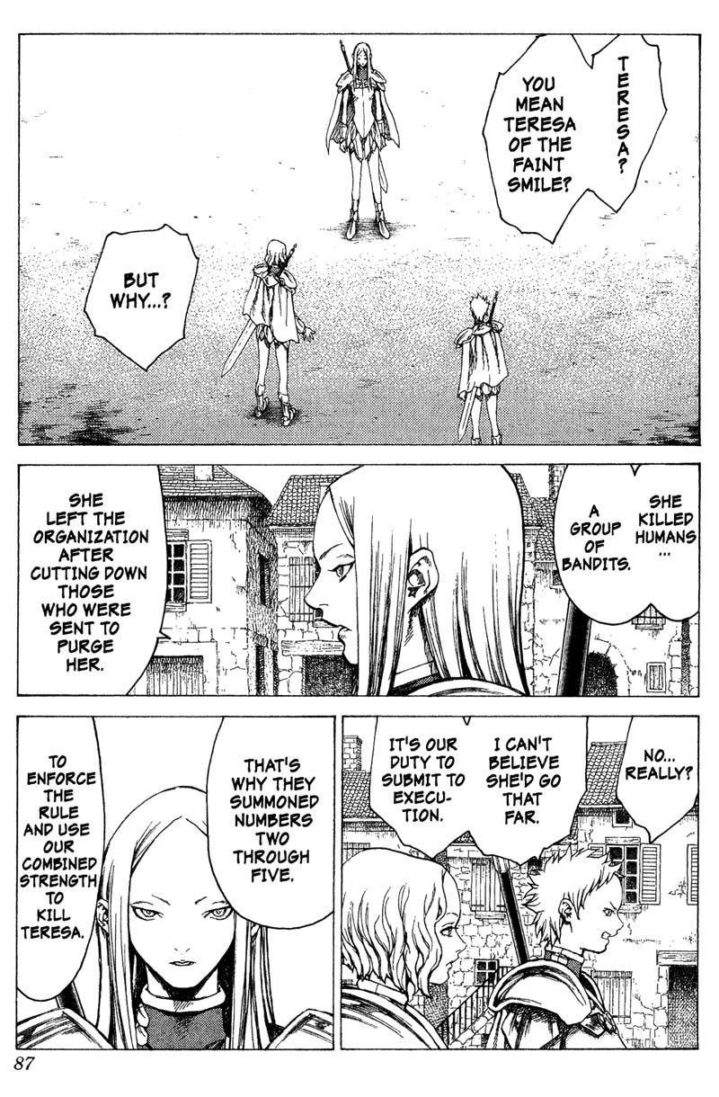 Claymore, Chapter 18 image 016