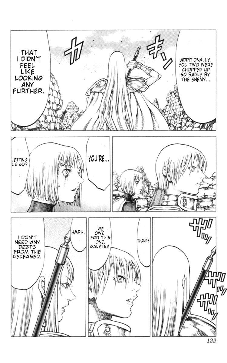Claymore, Chapter 49 image 025