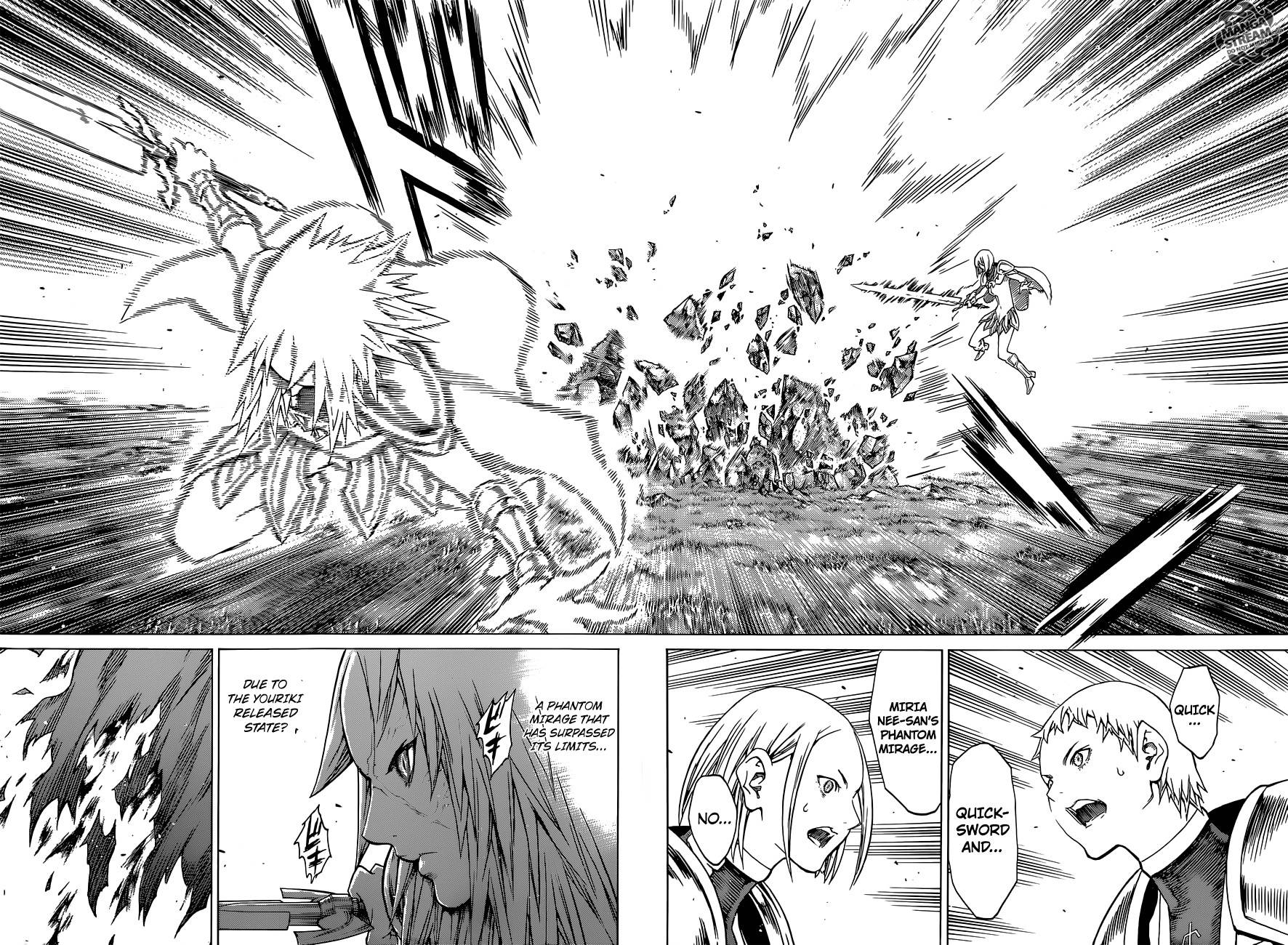 Claymore, Chapter 145 image 019