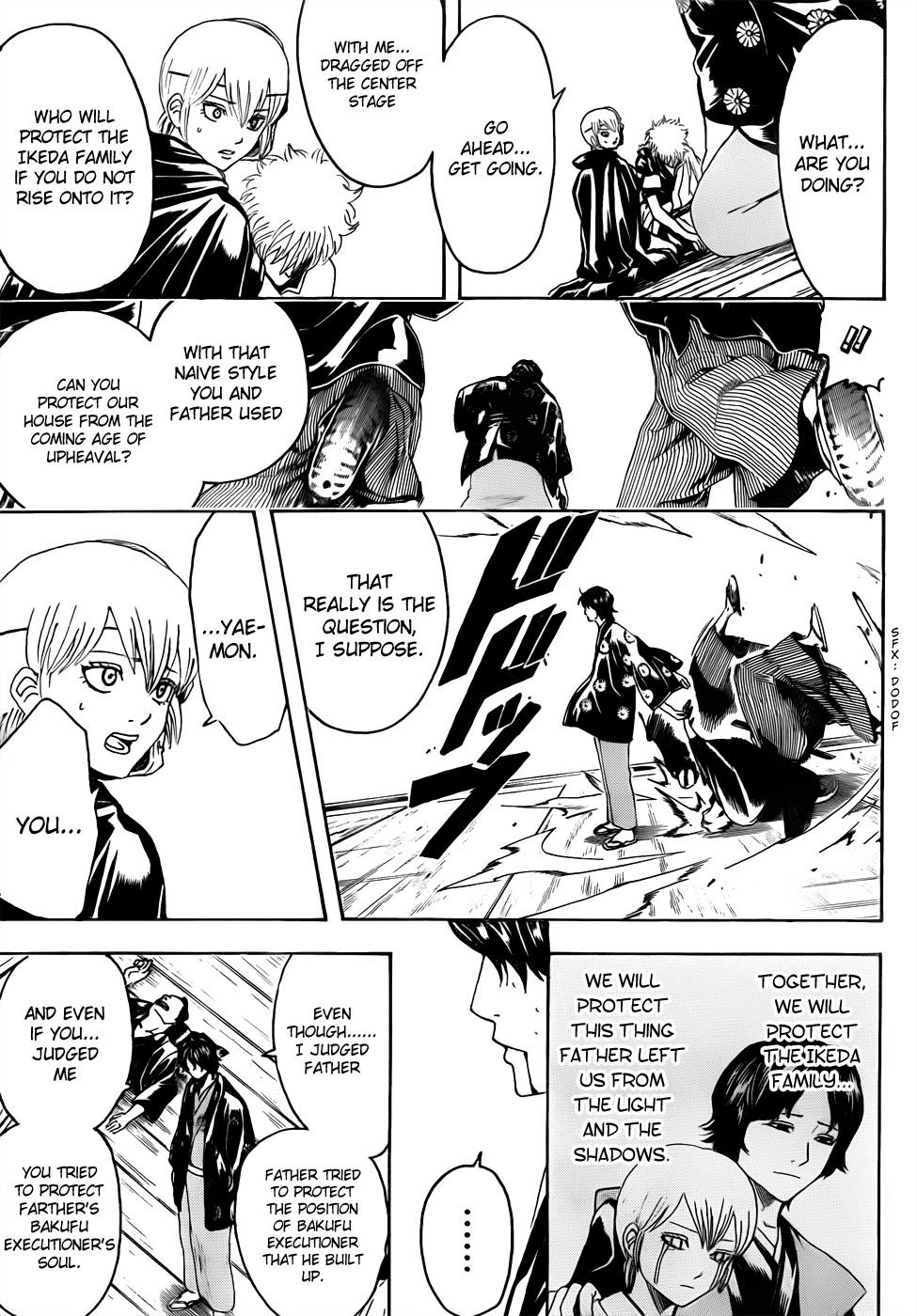 Gintama Chapter, 468 image 011
