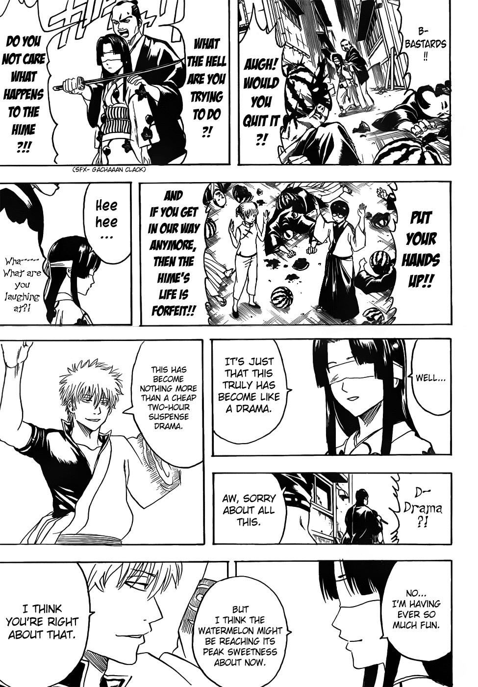 Gintama Chapter, 411 image 017