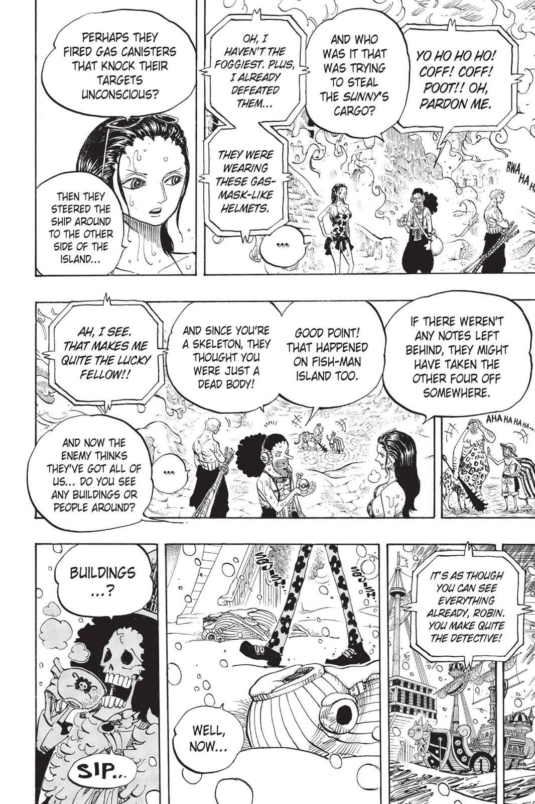 One Piece, Chapter 658 image 014