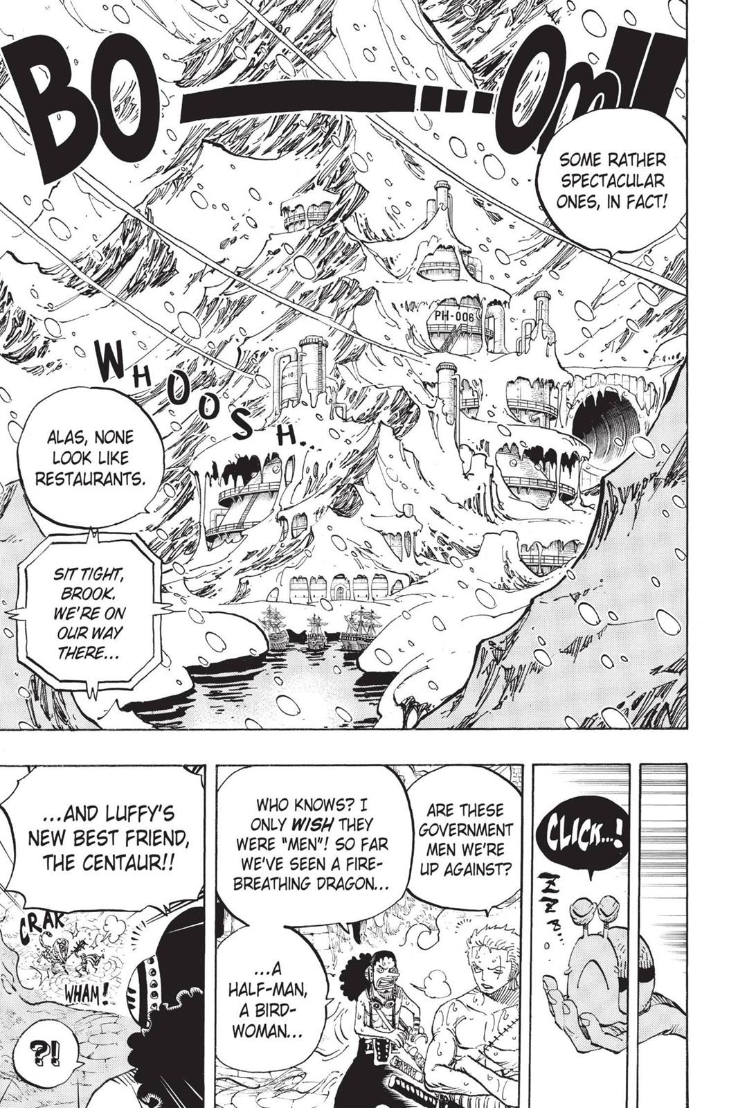 One Piece, Chapter 658 image 015