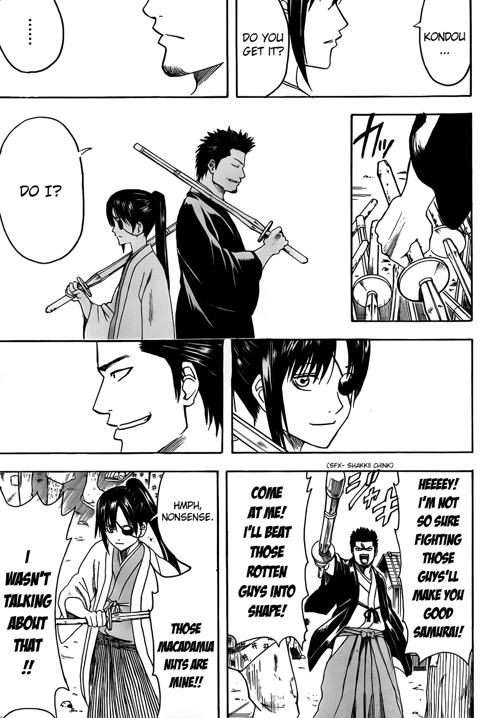 Gintama Chapter, 410 image 015