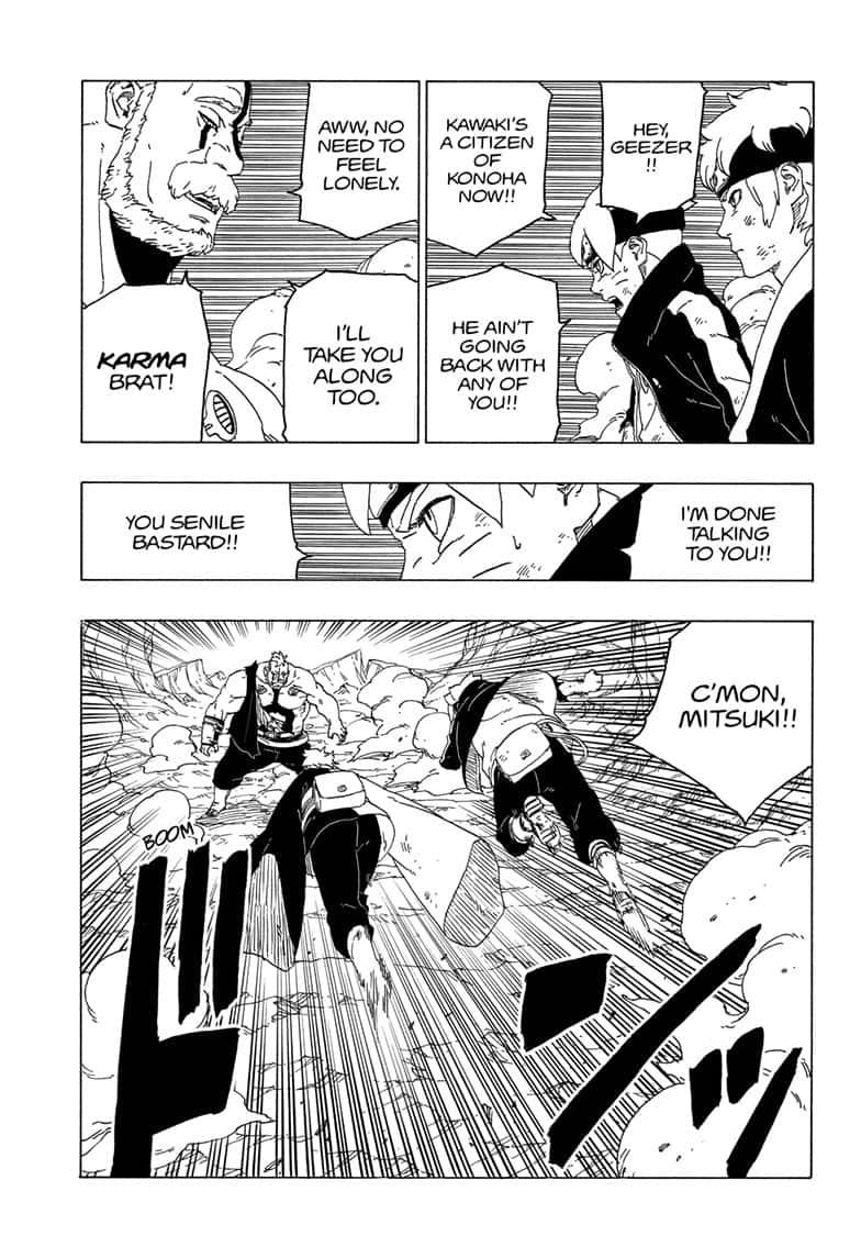 Boruto Manga, Chapter 42 image 008