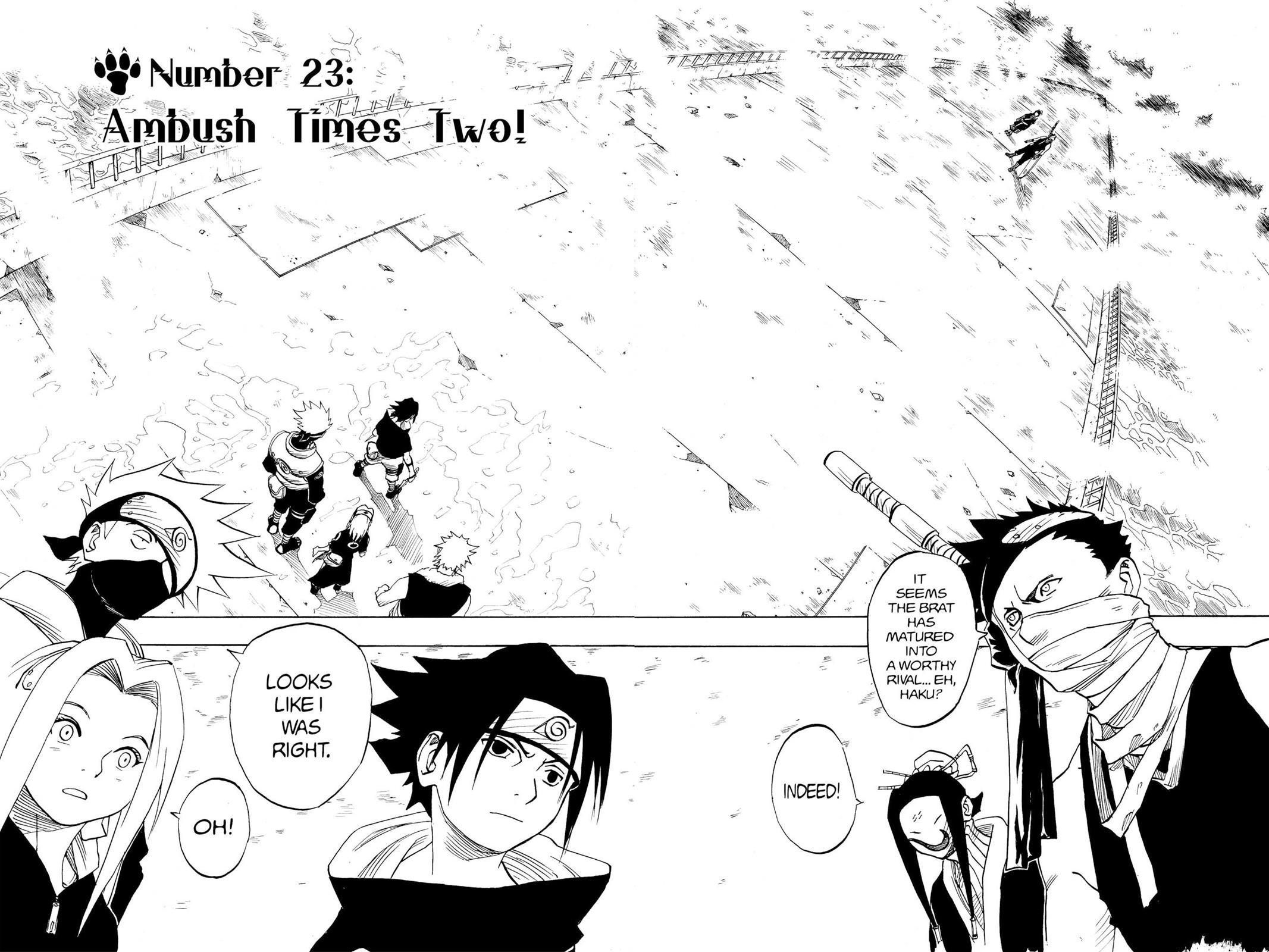 Naruto, Chapter 23 image 001