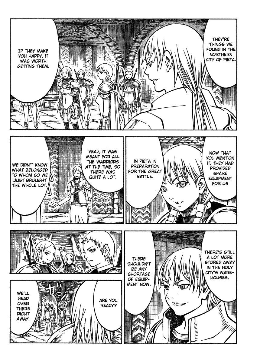 Claymore, Chapter 129 image 003