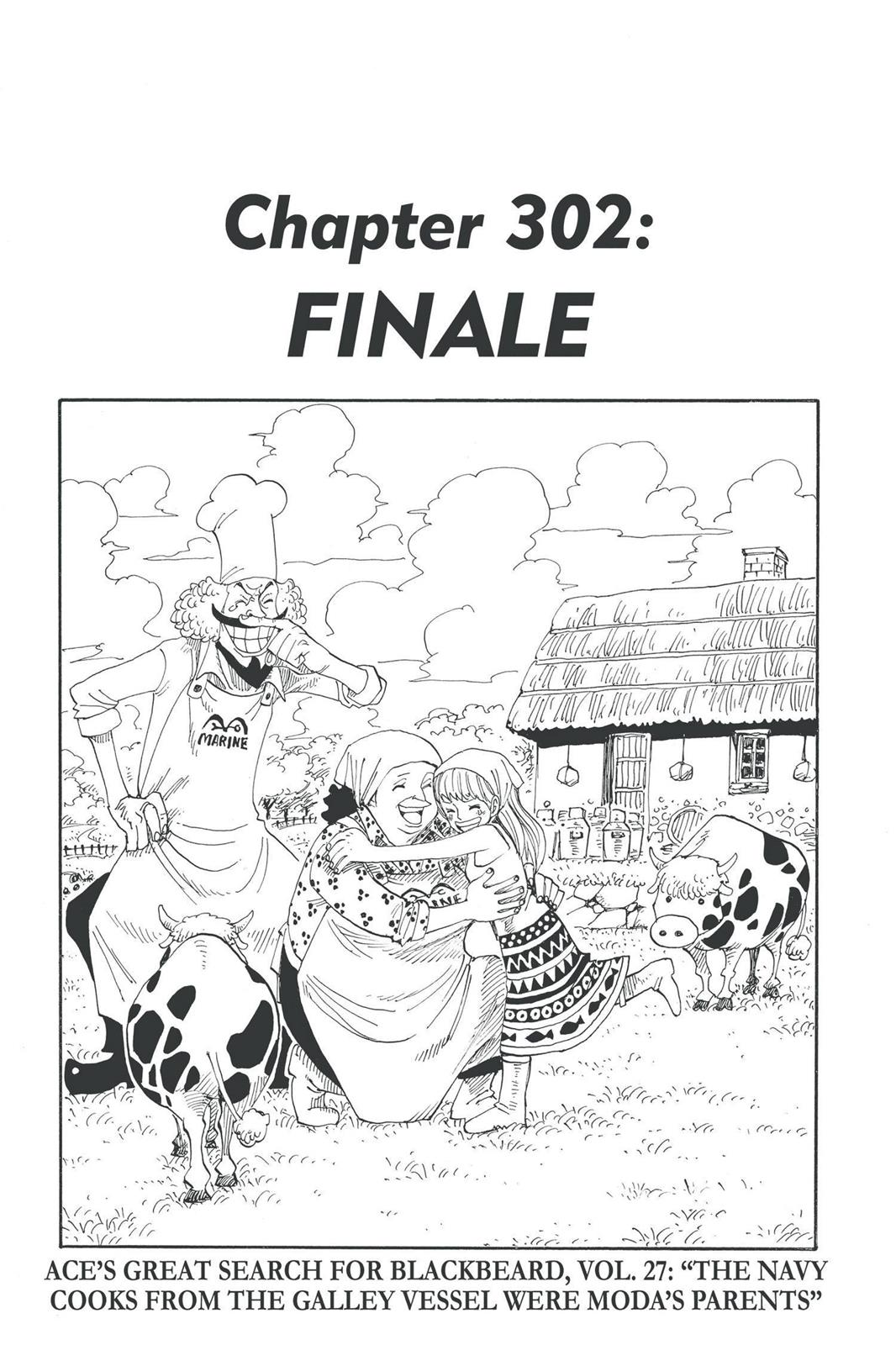 One Piece, Chapter 302 image 001