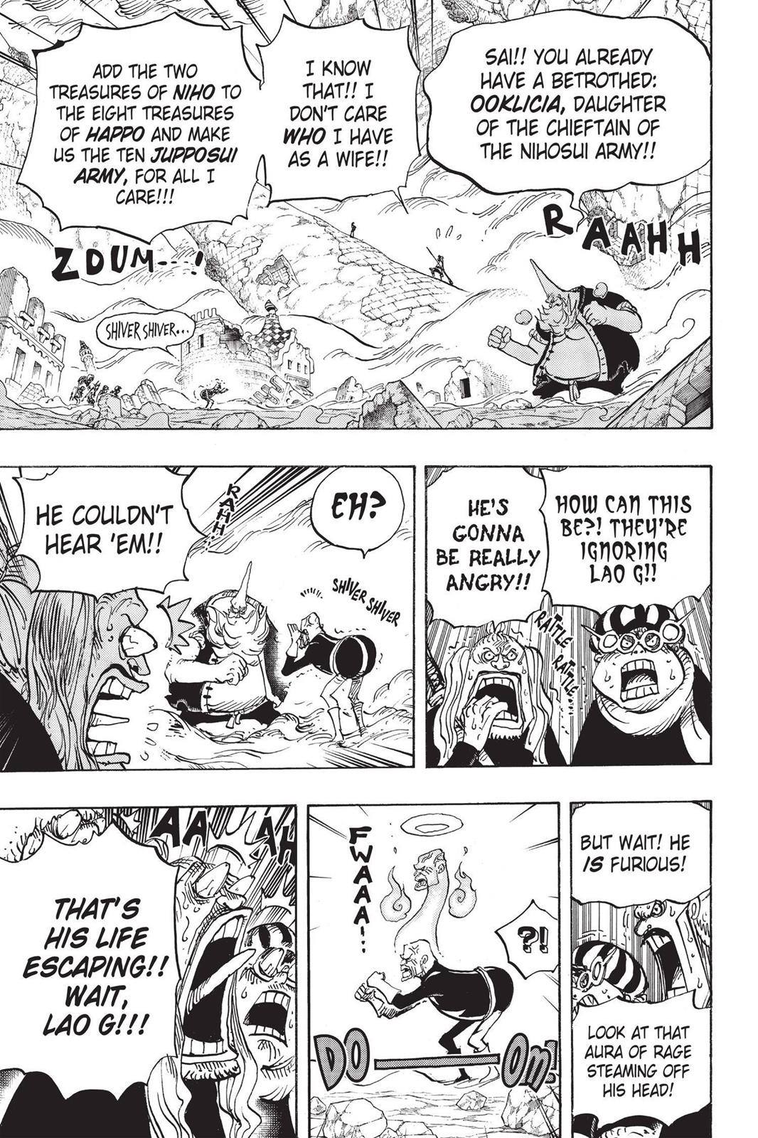 One Piece, Chapter 771 image 008