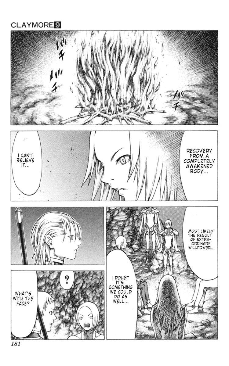 Claymore, Chapter 51 image 023