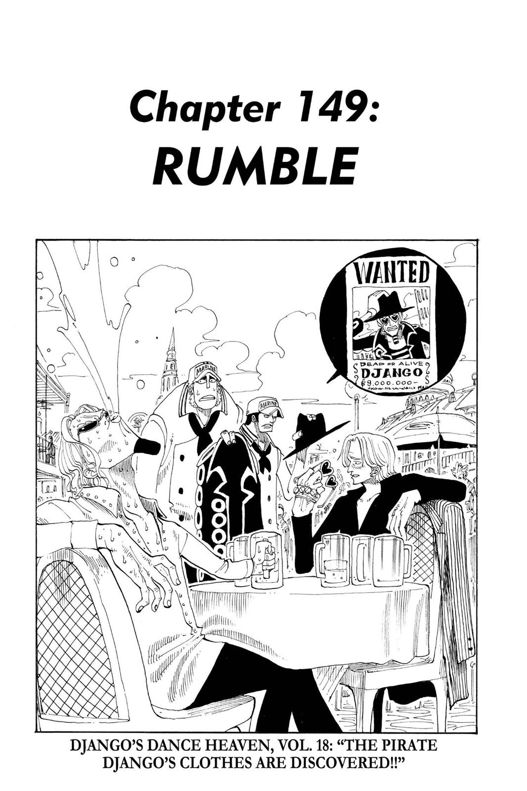 One Piece, Chapter 149 image 001