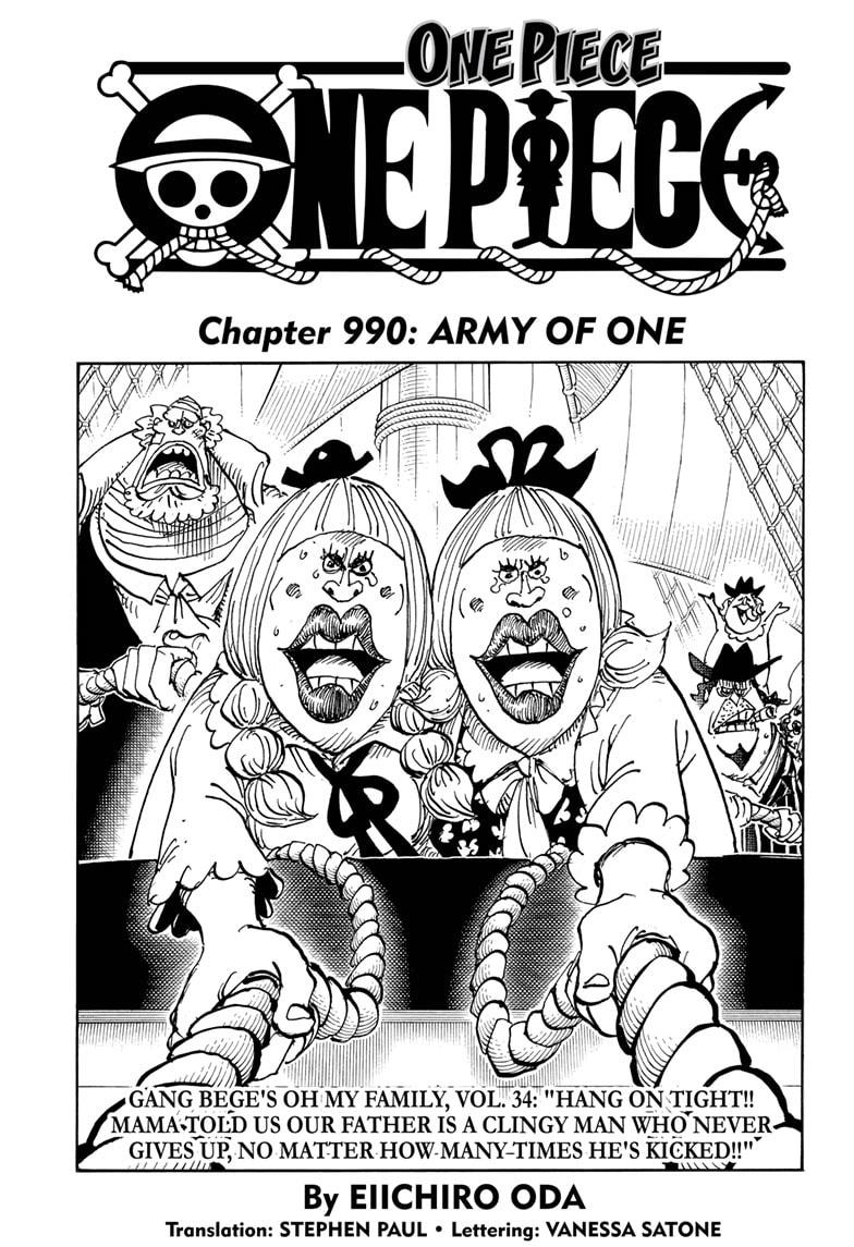 One Piece, Chapter 990 image 001