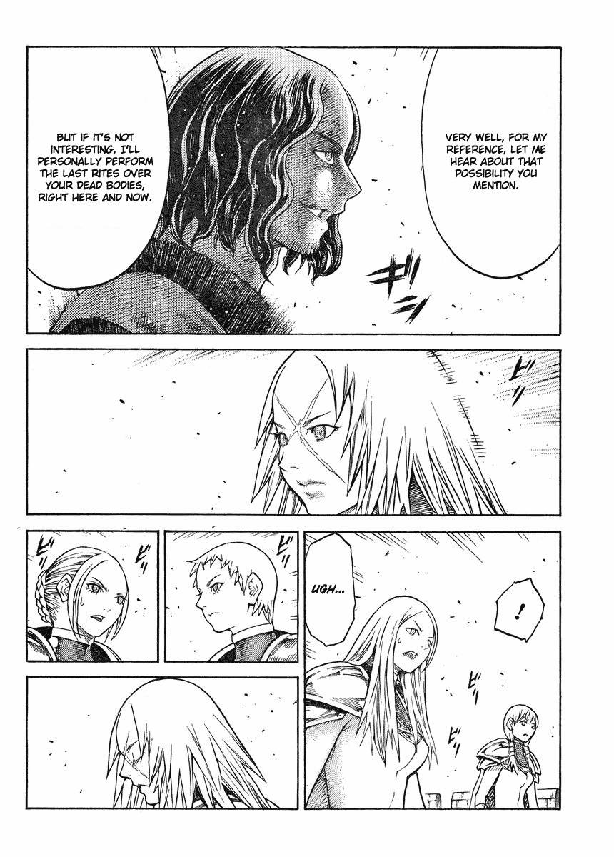 Claymore, Chapter 132 image 014