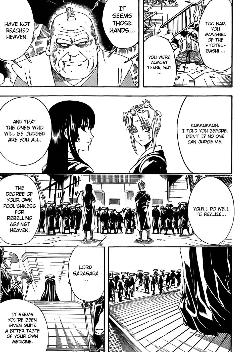 Gintama Chapter, 397 image 012