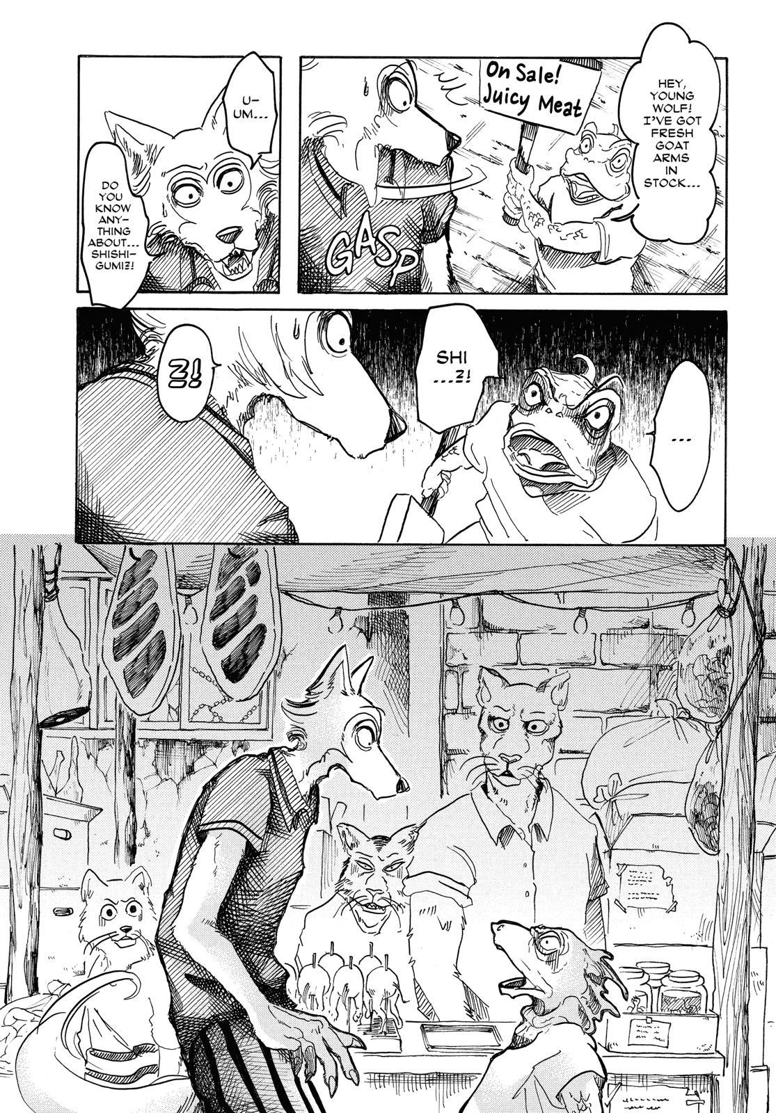 Beastars Manga, Chapter 37 image 003
