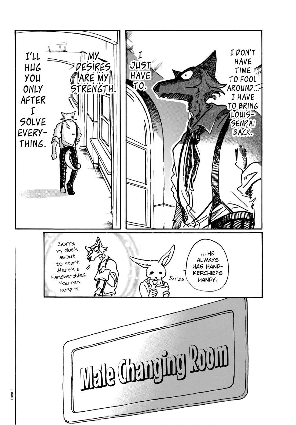 Beastars Manga, Chapter 83 image 016