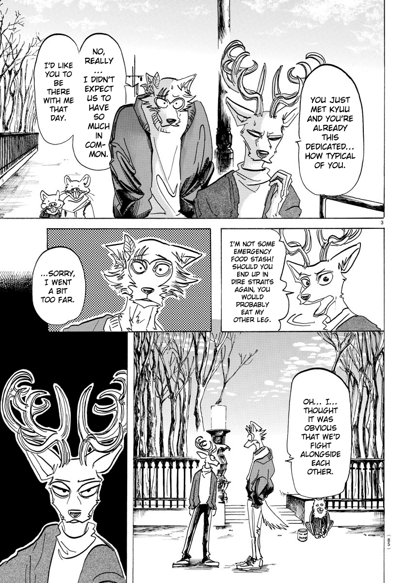 Beastars Manga, Chapter 165 image 003