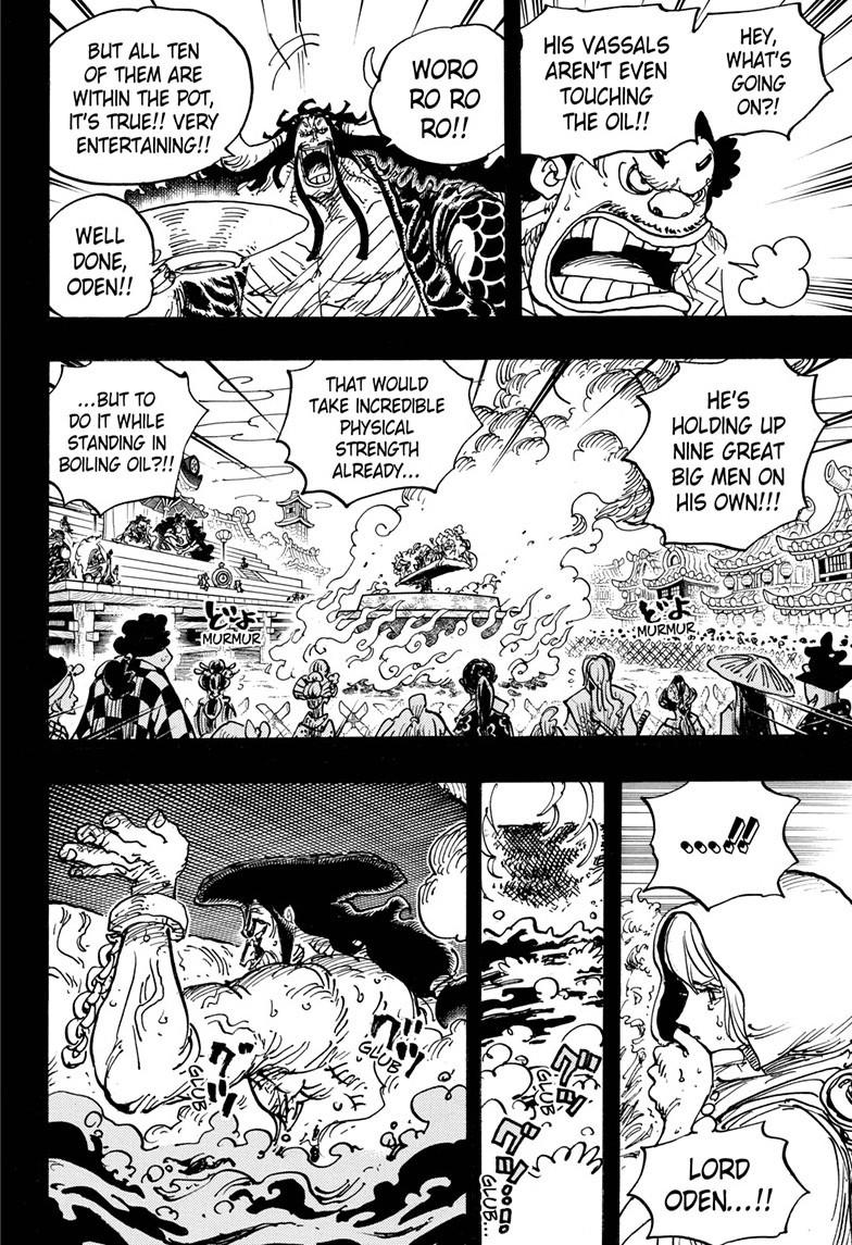 One Piece, Chapter 971 image 009