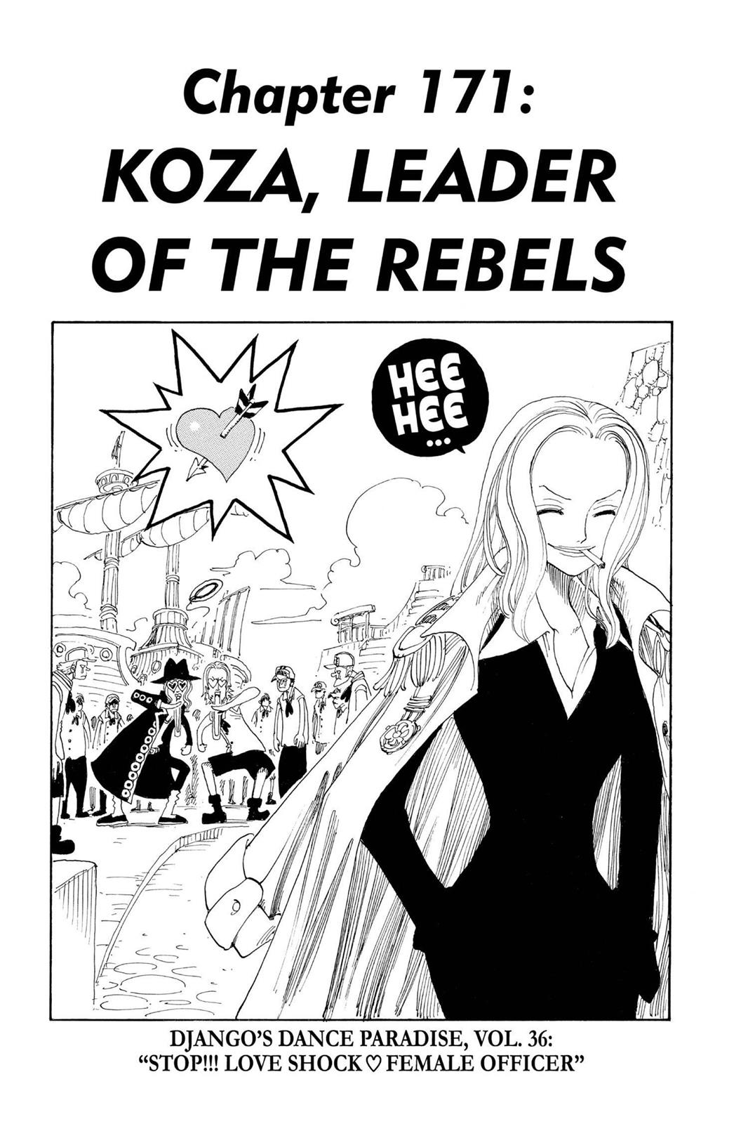 One Piece, Chapter 171 image 001