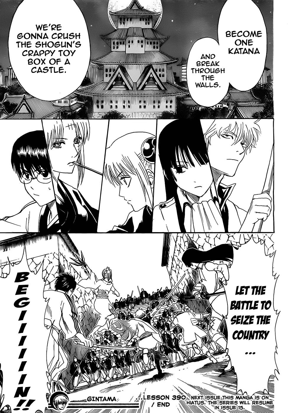 Gintama Chapter, 390 image 019