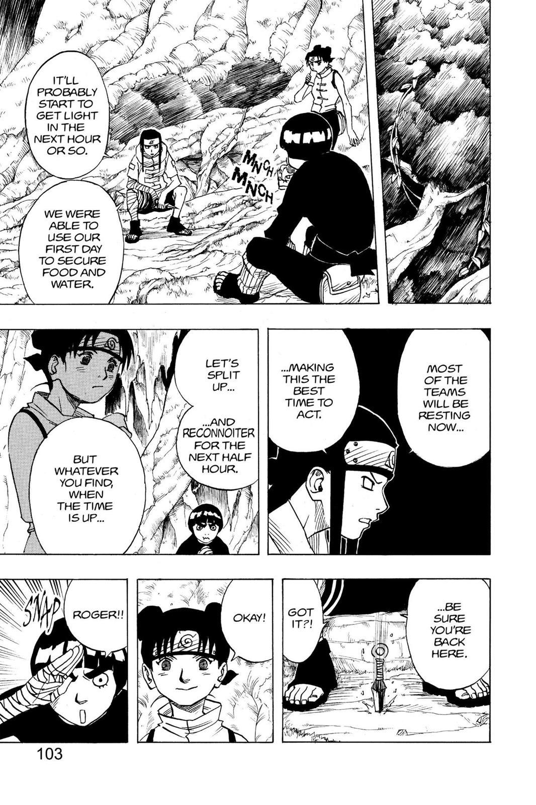Naruto, Chapter 50 image 017