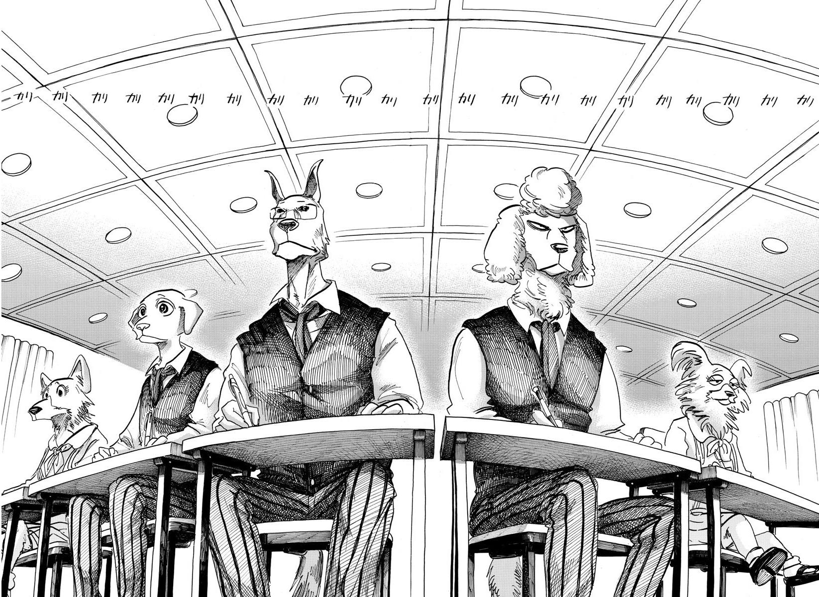 Beastars Manga, Chapter 153 image 004