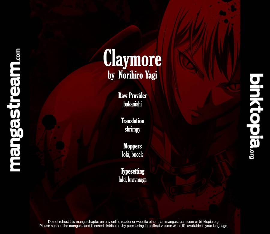 Claymore, Chapter 104 image 001