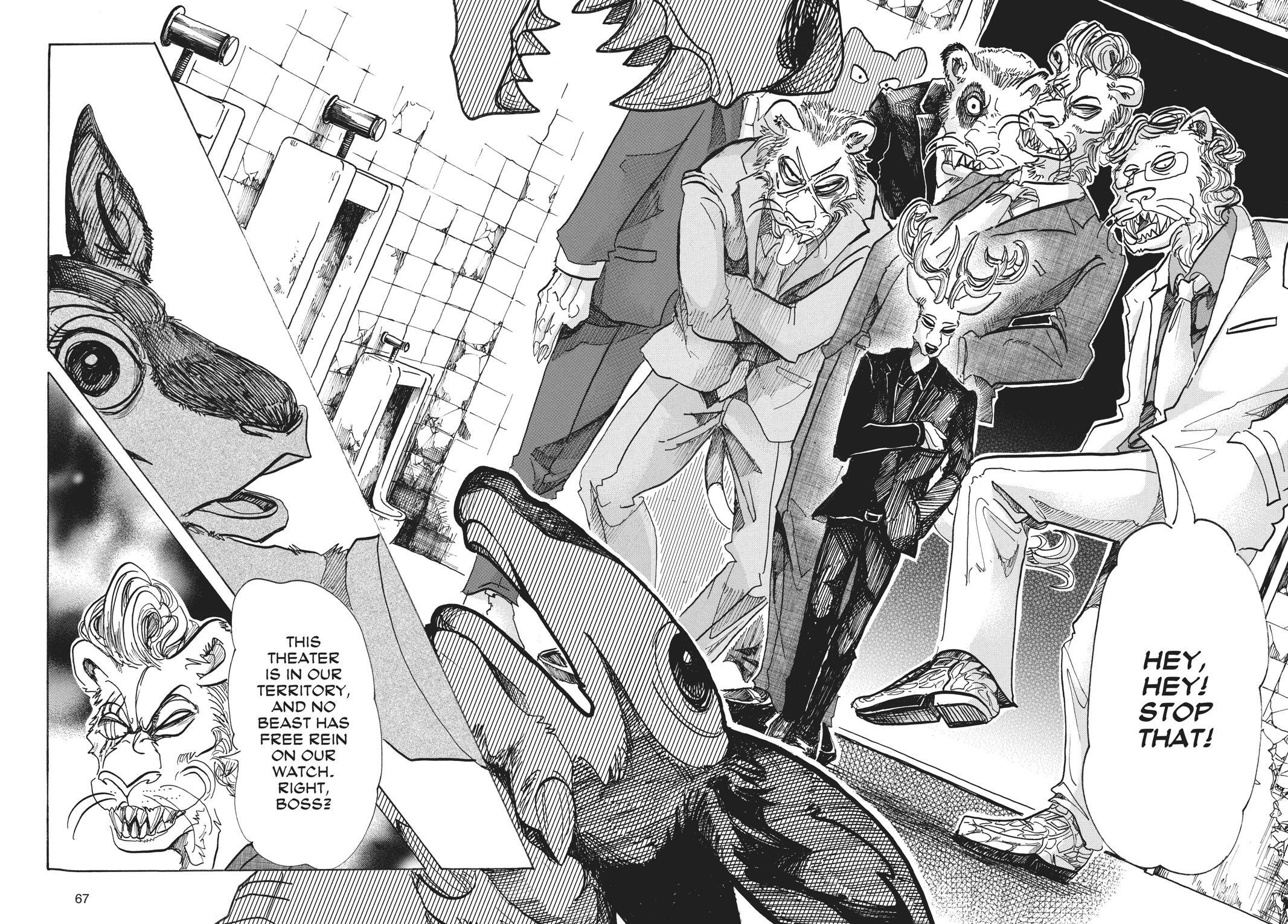 Beastars Manga, Chapter 64 image 018