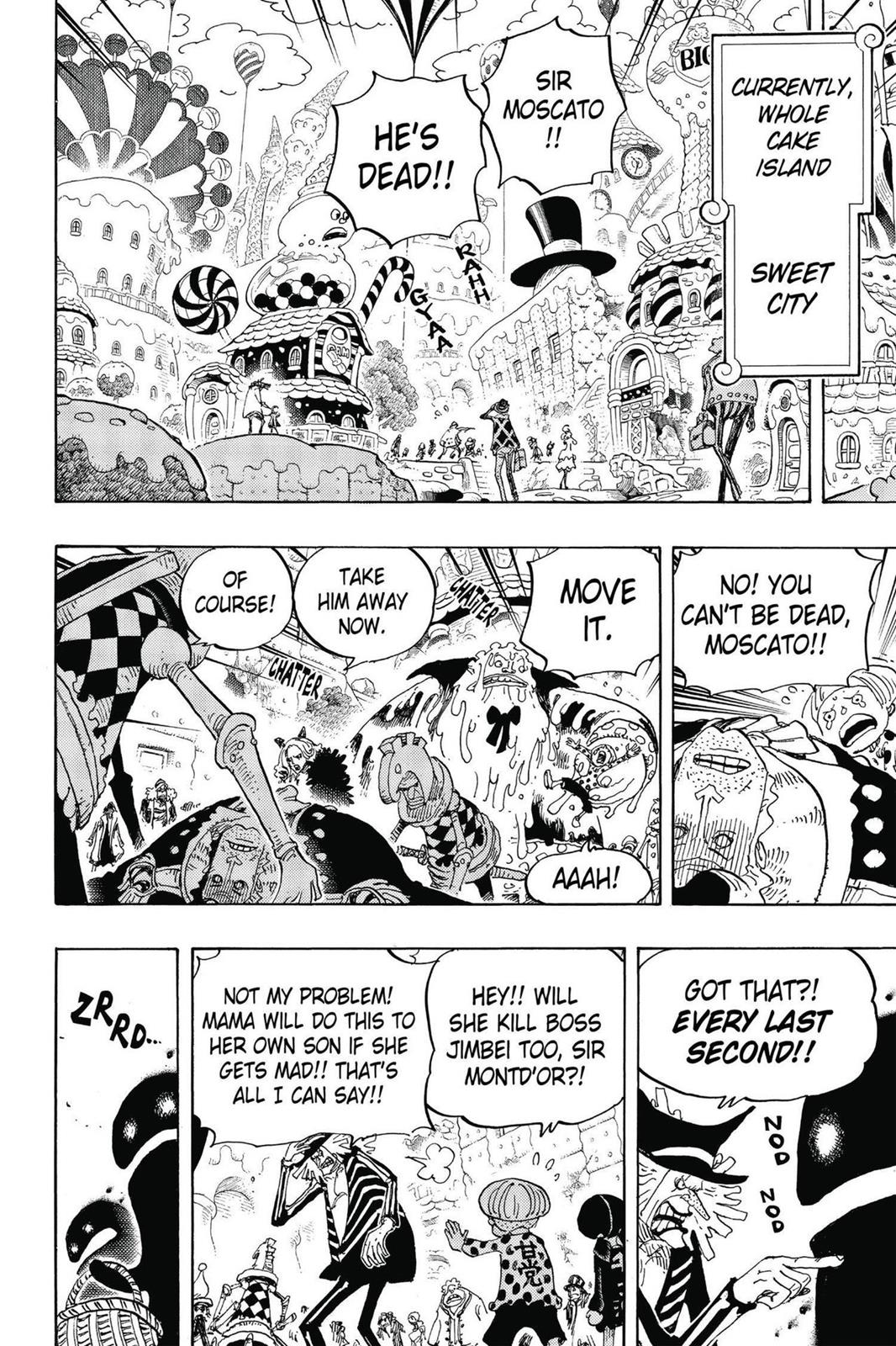 One Piece, Chapter 830 image 008