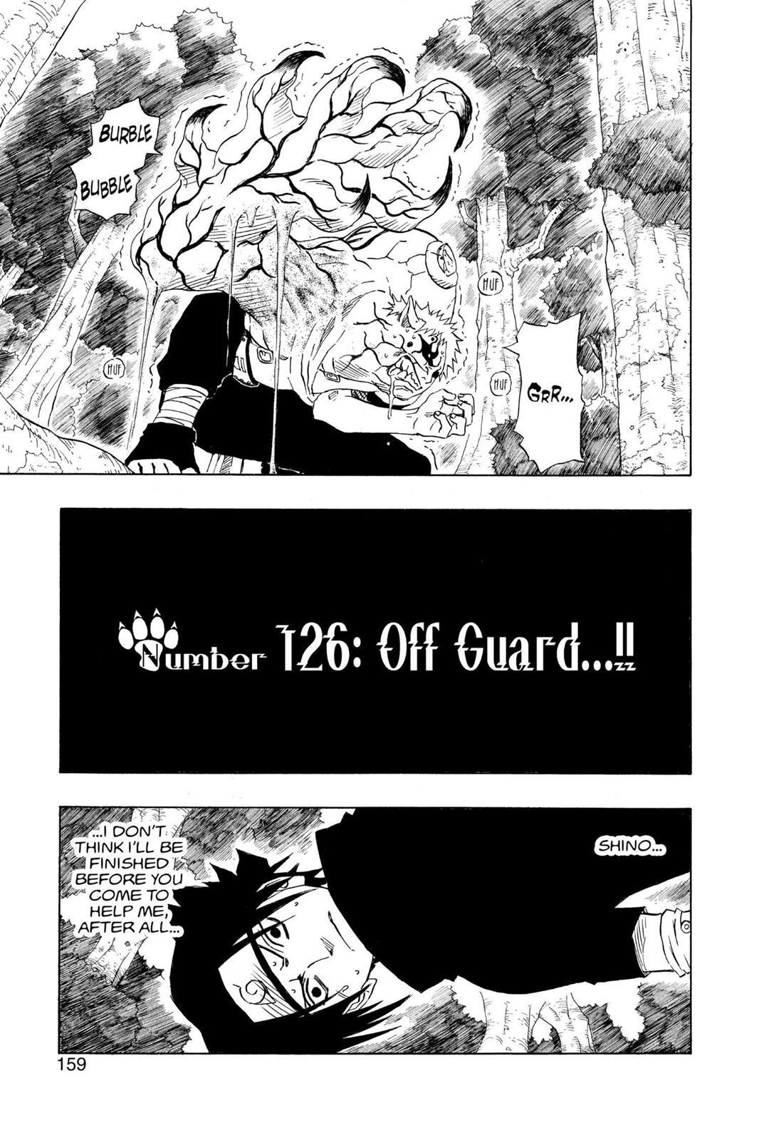 Naruto, Chapter 126 image 001