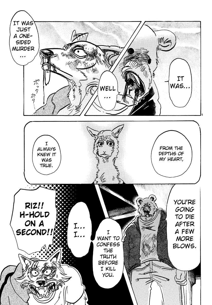 Beastars Manga, Chapter 94 image 005