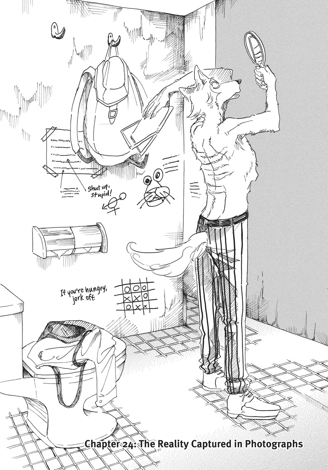 Beastars Manga, Chapter 24 image 001