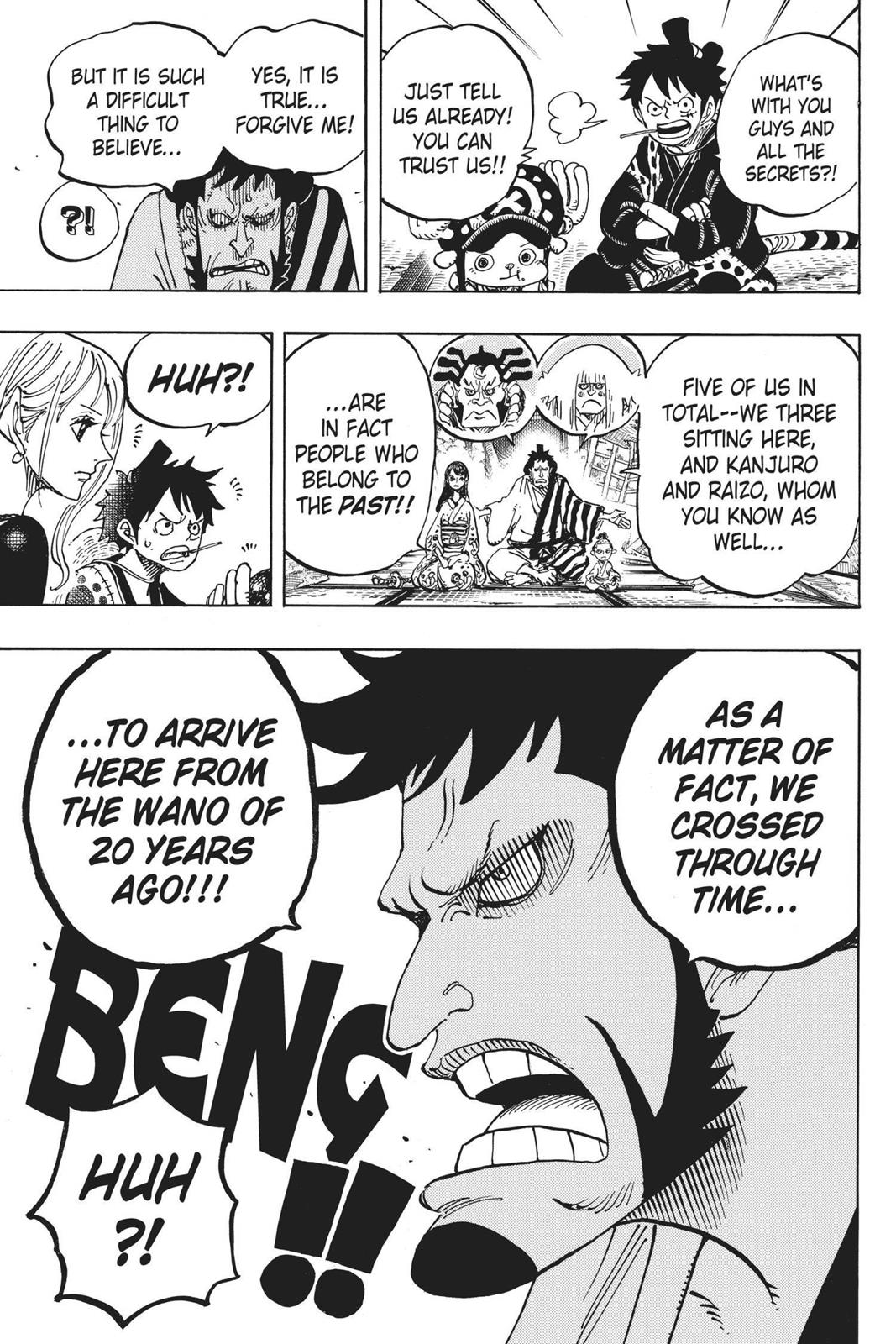 One Piece, Chapter 919 image 016