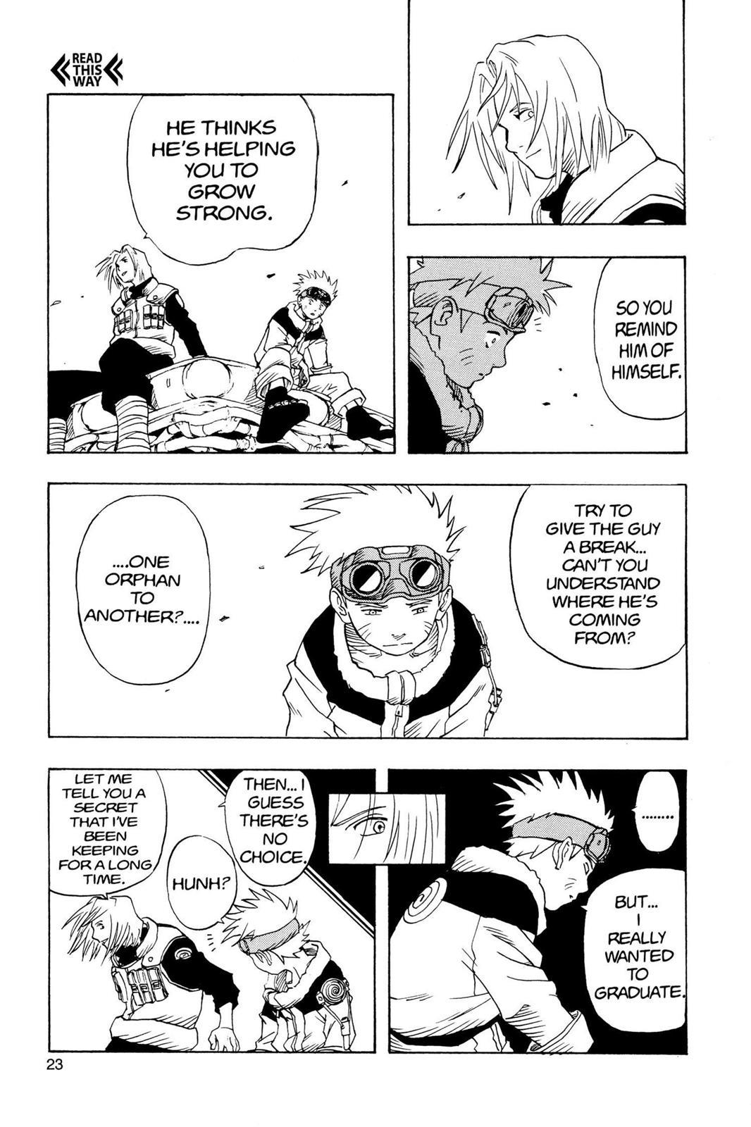 Naruto, Chapter 1 image 023
