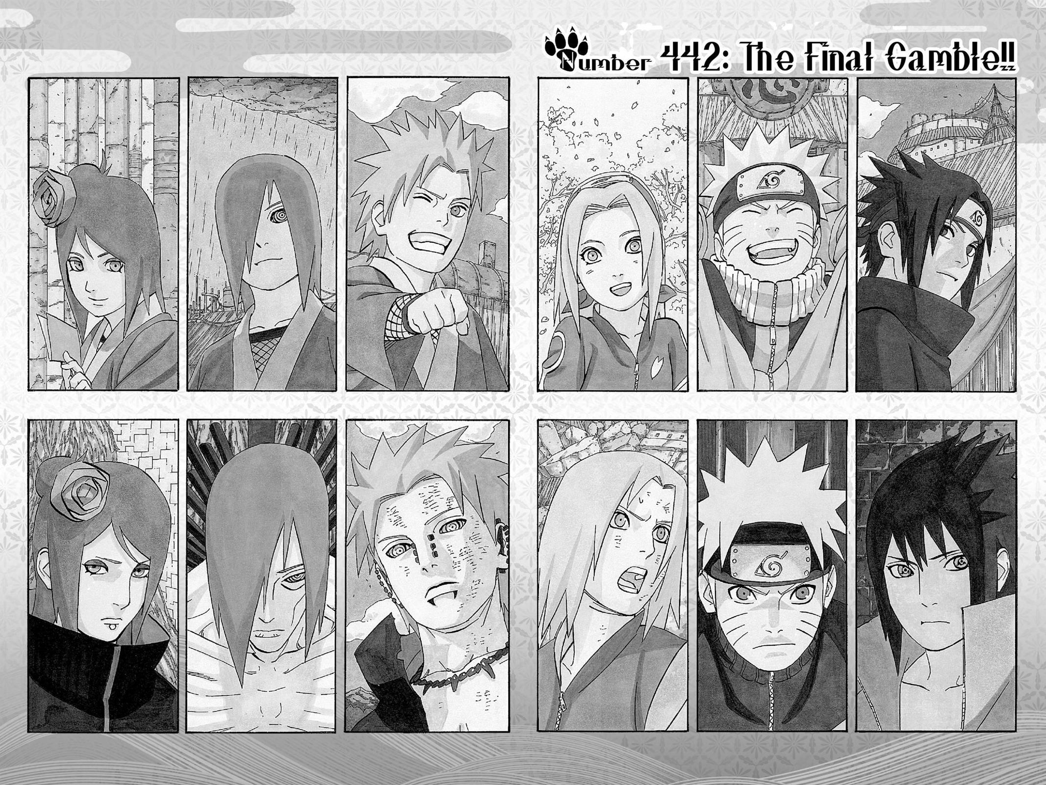 Naruto, Chapter 442 image 002