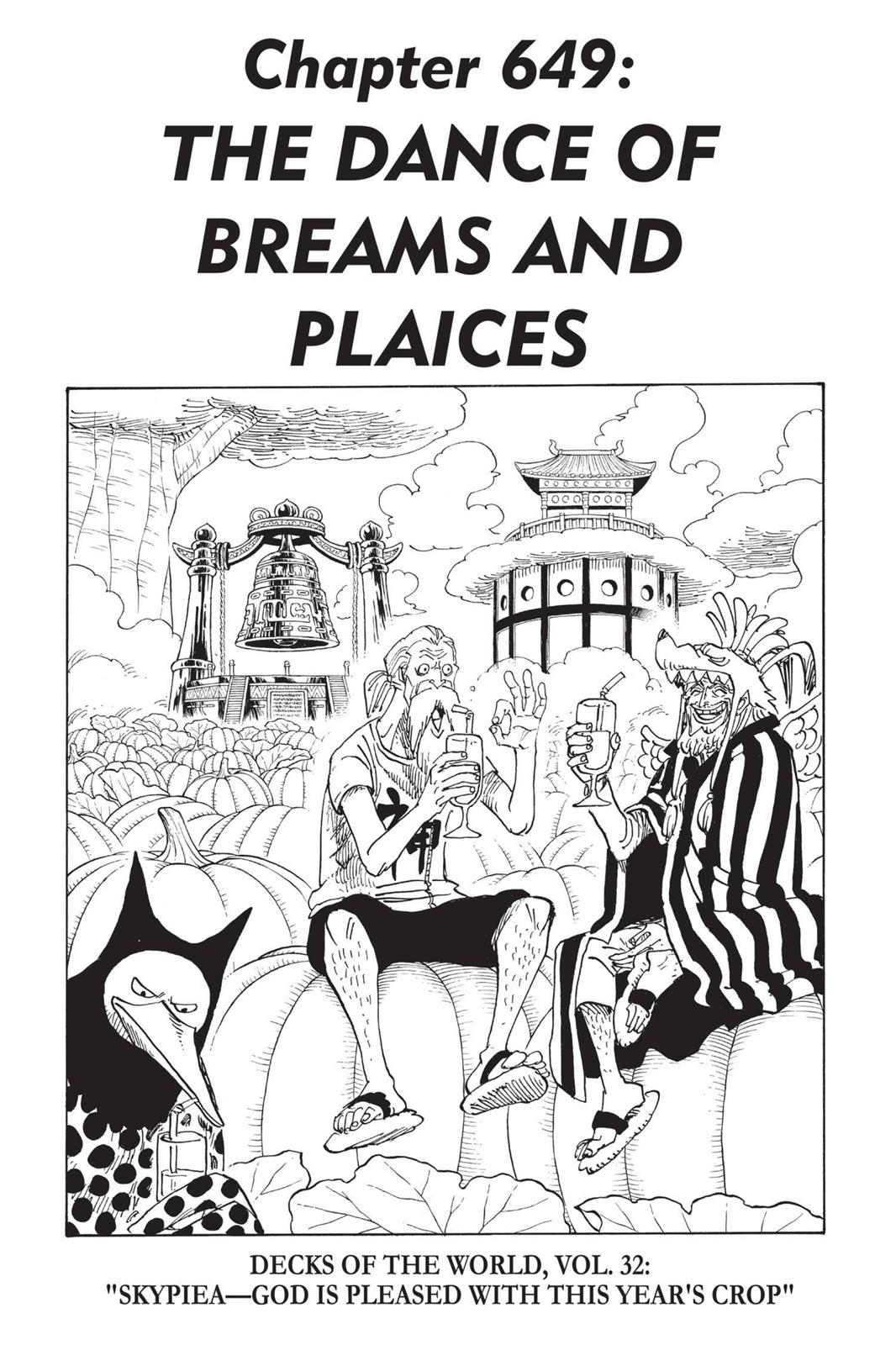 One Piece, Chapter 649 image 001