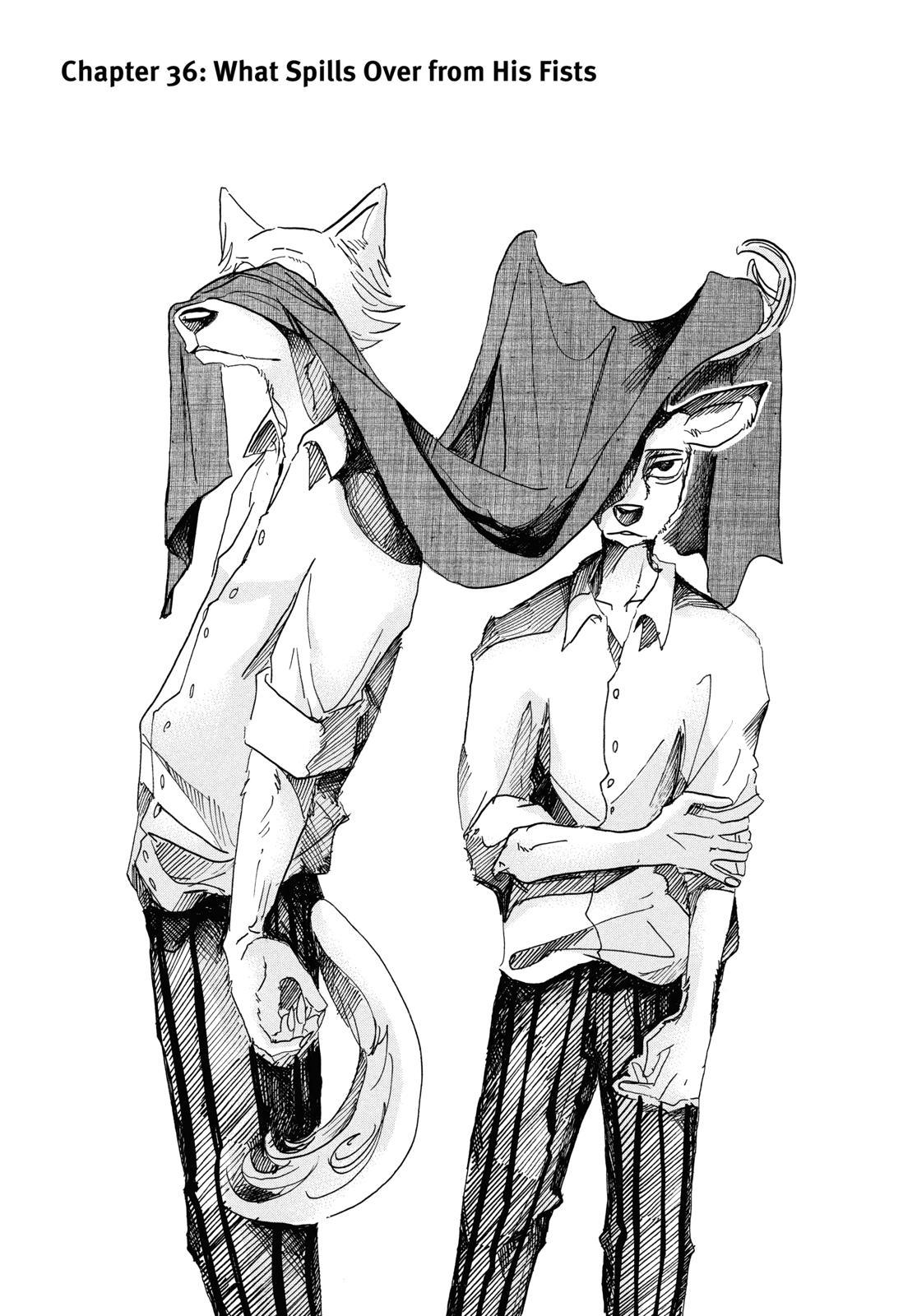 Beastars Manga, Chapter 36 image 001