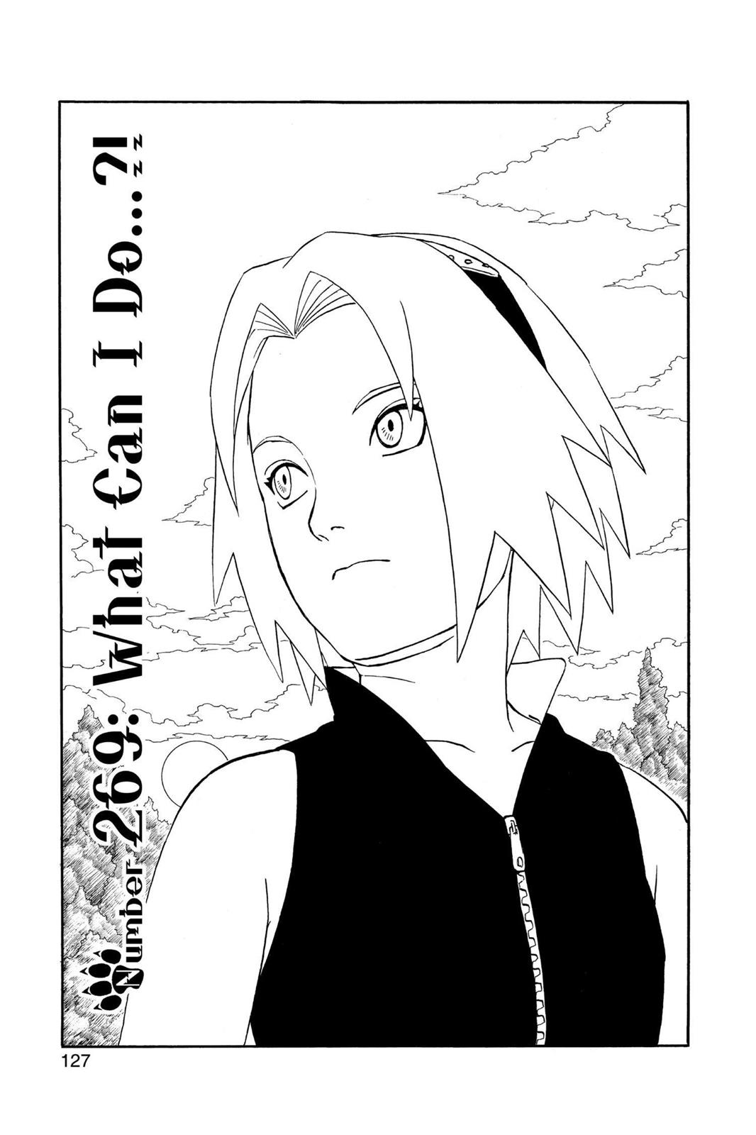 Naruto, Chapter 269 image 001