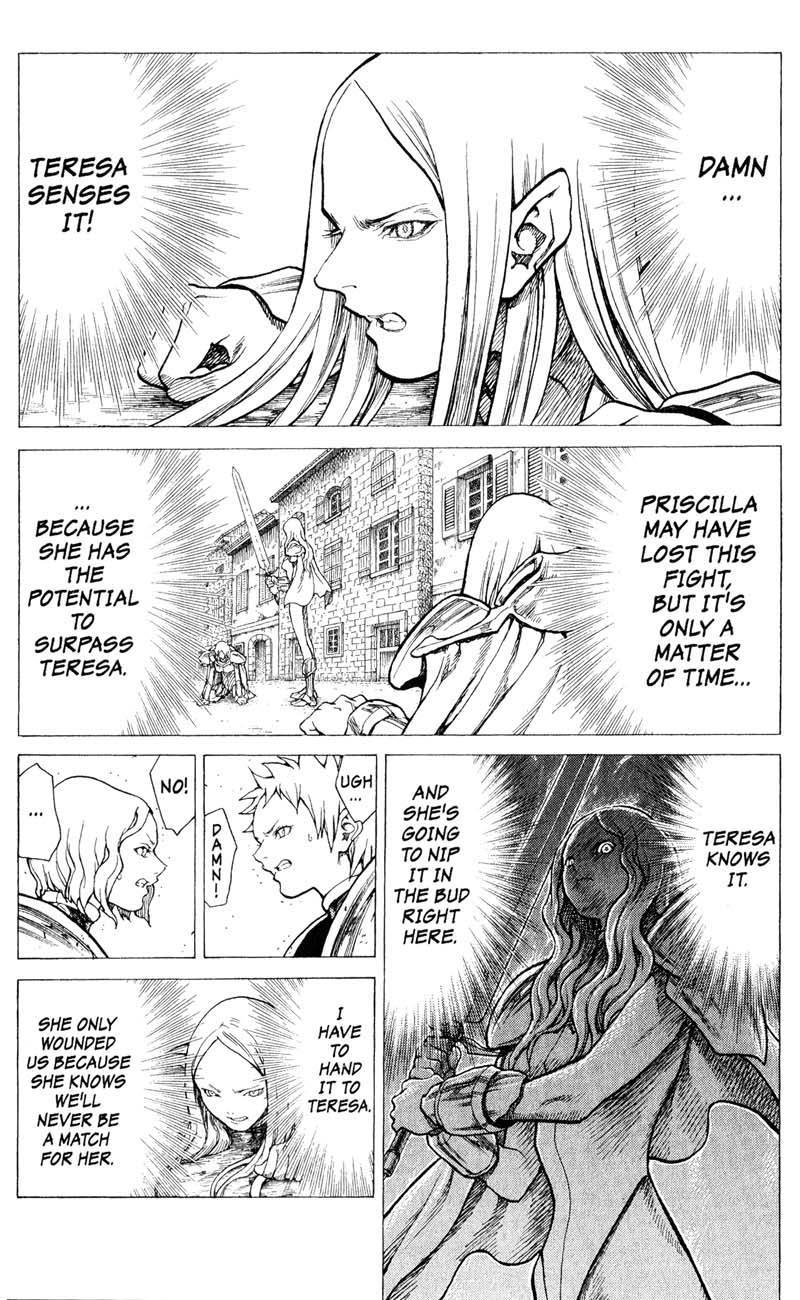 Claymore, Chapter 22 image 012