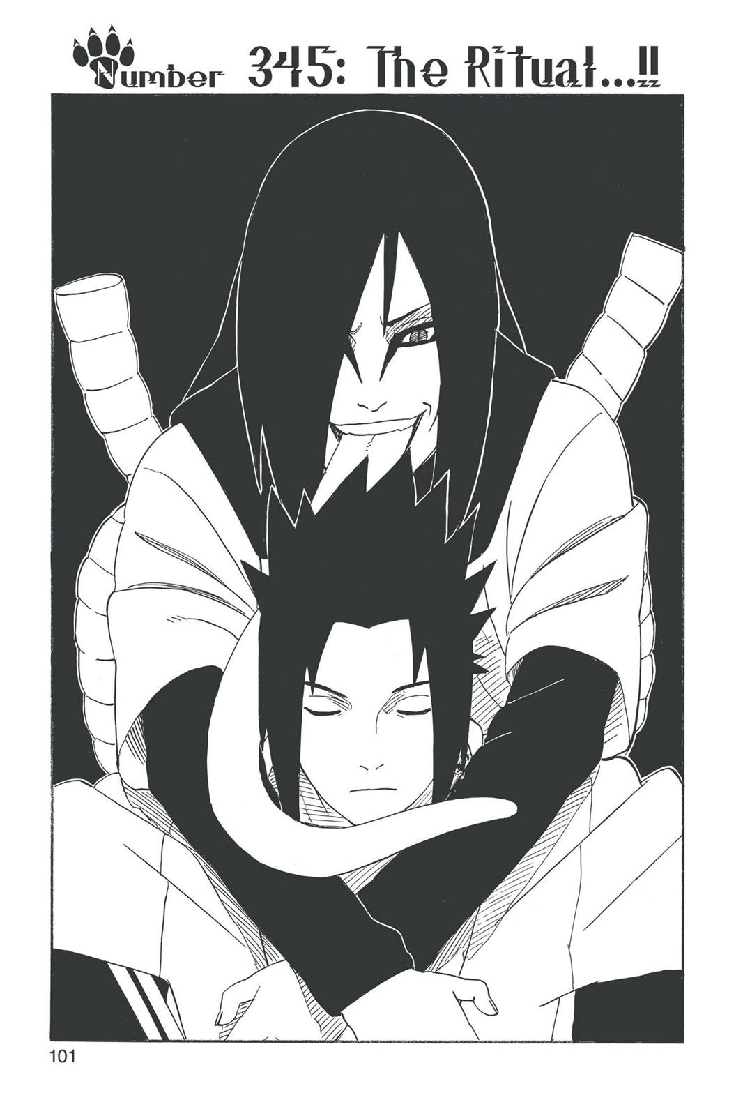 Naruto, Chapter 345 image 001